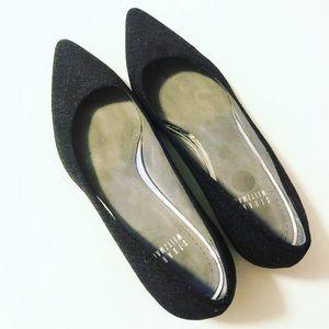 Stuart Weitzman Shoes - Black Dress Flats Like New Stuart Weitzman